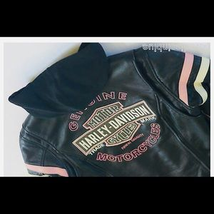 Harley Davidson 3 and 1 leather jacket size S